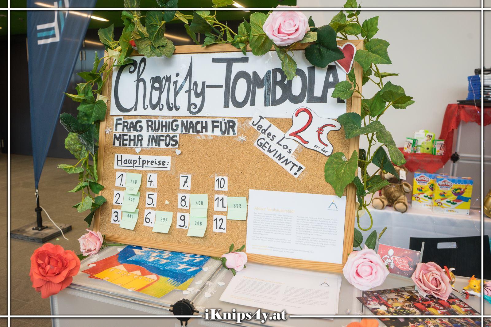Charity-Tombola auf der ACC